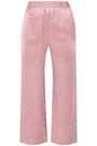 DEITAS Silk-satin wide-leg pants
