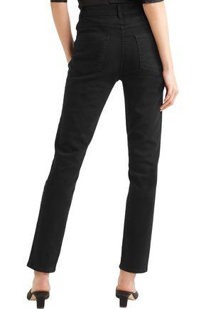 CASASOLA High-rise slim-leg jeans