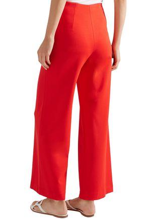 ROSETTA GETTY Stretch-jersey wide-leg pants