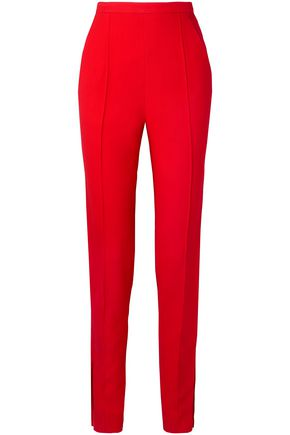 KHAITE Diana stretch-canvas tapered pants