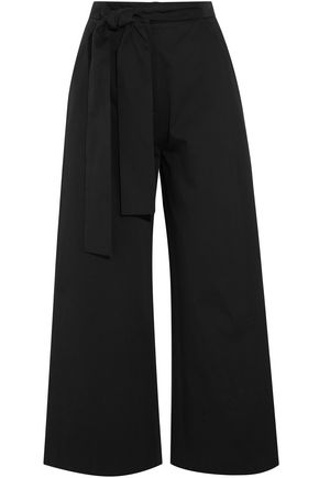SALONI Stretch-cotton culottes