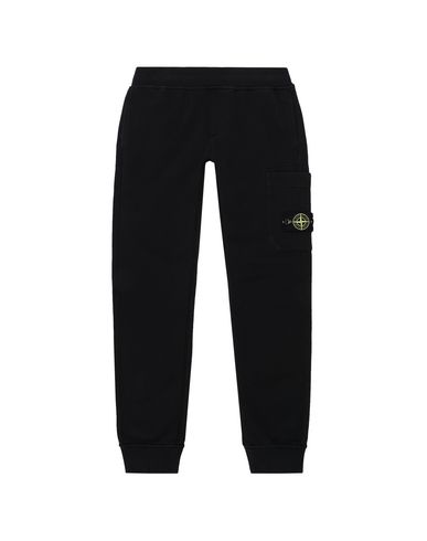 STONE ISLAND JUNIOR Fleece Trousers Man 60640 f