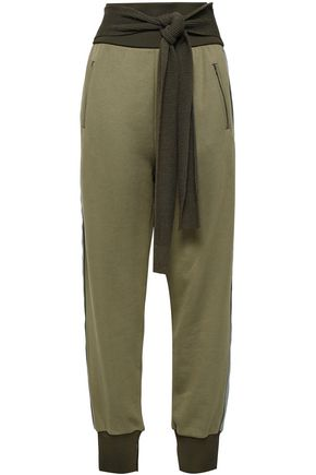 3.1 PHILLIP LIM French cotton-terry tapered pants