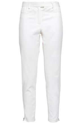VERONICA BEARD Cotton-blend slim-leg pants