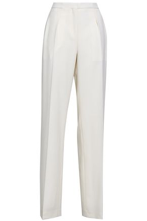 NARCISO RODRIGUEZ Wool-twill wide-leg pants