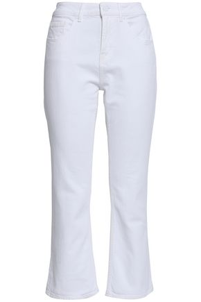 KATE SPADE New York Broome Street mid-rise kick-flare jeans