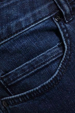 KATE SPADE New York Broome Street cropped high-rise slim-leg jeans