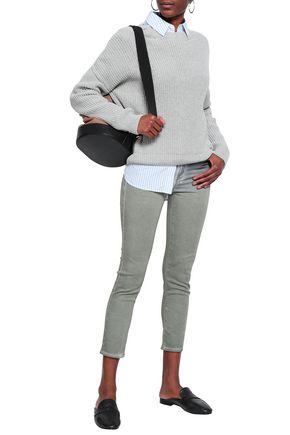 AG JEANS Cotton-blend skinny pants
