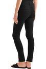FRAME Le High split-front high-rise skinny jeans