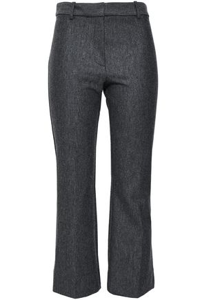DEREK LAM 10 CROSBY Wool-blend kick-flare pants