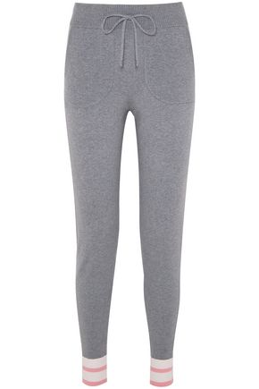 EQUIPMENT Elsie stretch-jersey track pants