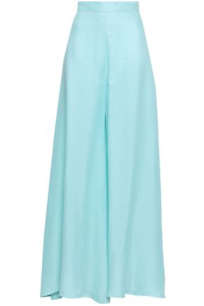 PAPER London Kelly crepe wide-leg pants