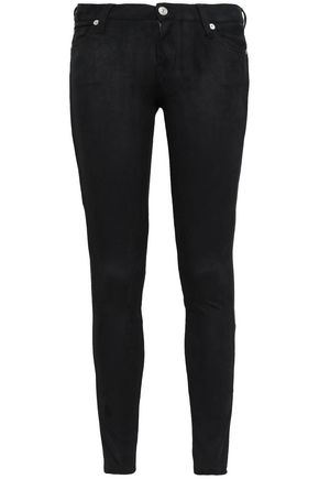 7 FOR ALL MANKIND Faux suede skinny pants