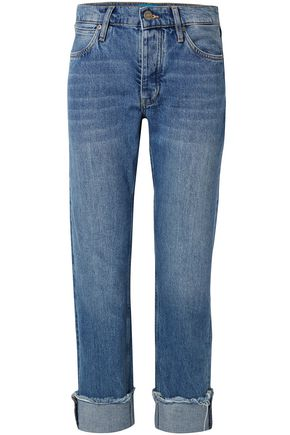 M.I.H JEANS Mid-rise straight-leg jeans