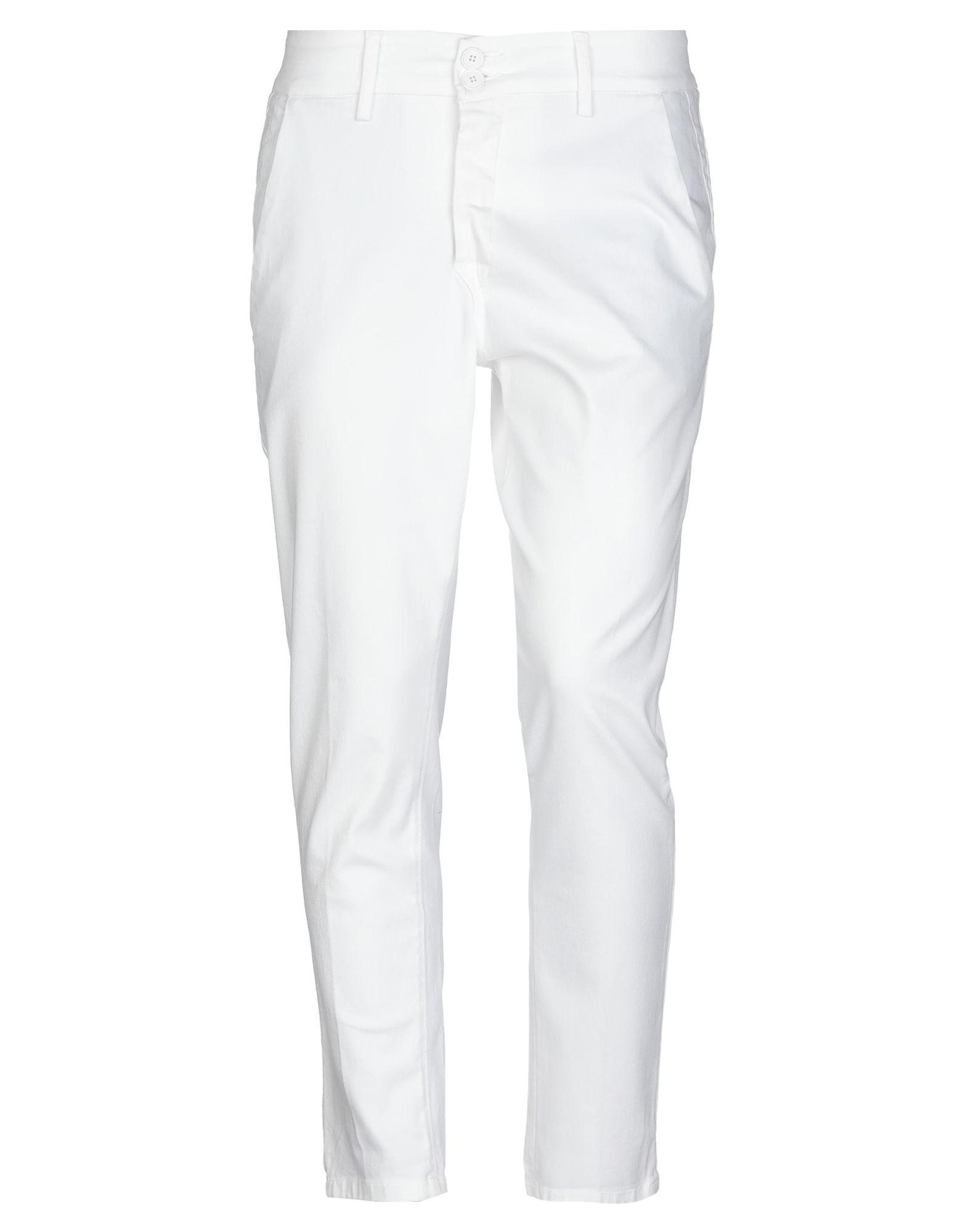 《期間限定セール開催中!》S.O.S. by ORZA STUDIO レディース パンツ ホワイト 30 コットン 98% / ポリウレタン 2%