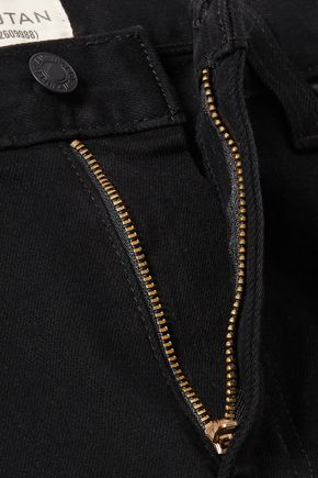 NILI LOTAN Mid-rise flared jeans