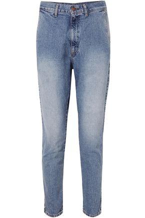 BASSIKE High-rise slim-leg jeans