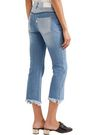 SJYP Cropped mid-rise straight-leg jeans