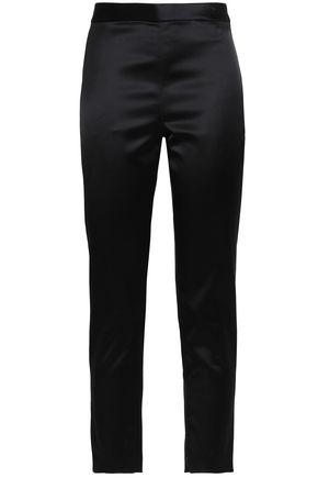ROSETTA GETTY Satin skinny pants