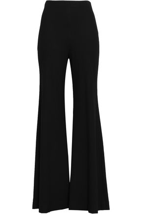 ROSETTA GETTY Stretch-knit flared pants