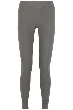 ATM ANTHONY THOMAS MELILLO Ribbed stretch-Micro Modal leggings