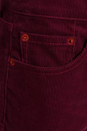 RE/DONE Cotton-corduroy straight-leg pants