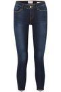 FRAME Le Skinny De Jeanne cropped mid-rise skinny jeans
