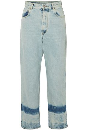 GOLDEN GOOSE DELUXE BRAND High-rise straight-leg jeans