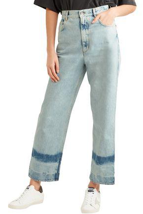 GOLDEN GOOSE DELUXE BRAND High-rise straight-leg jeans