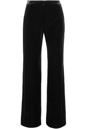 L'AGENCE Velvet straight-leg pants