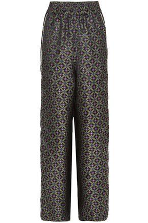 GOLDEN GOOSE DELUXE BRAND Jacquard wide-leg pants