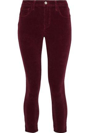 L'AGENCE Velvet skinny pants
