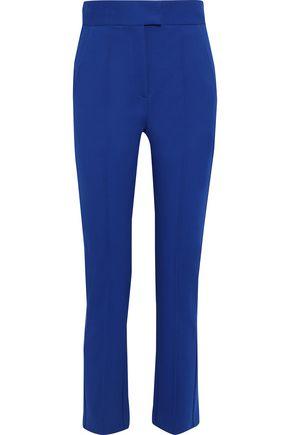 MSGM Stretch cotton-cady straight-leg pants