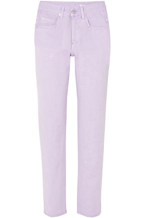 PUSHBUTTON High-rise tapered jeans