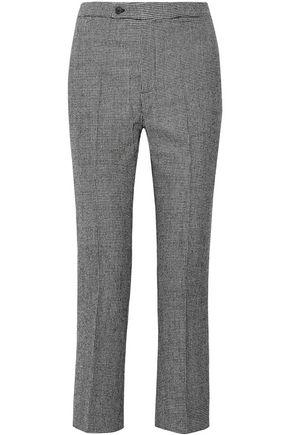 R13 Houndstooth wool straight-leg pants