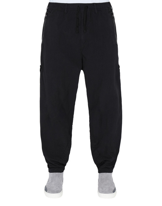STONE ISLAND SHADOW PROJECT TROUSERS 30201 ADJUSTABLE WIDE PANTS WITH ARTICULATION TUNNELS (HOLLOWCORE)
