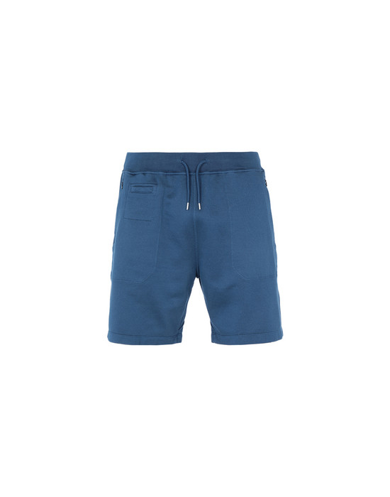 FLEECE BERMUDA SHORTS 60307 LEISURE SHORTS (SUPIMA® FELPA) STONE ISLAND SHADOW PROJECT - 0
