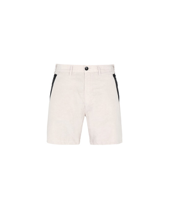 STONE ISLAND SHADOW PROJECT Bermuda shorts L0308 BERMUDAS (COTTON LINEN CANVAS)
