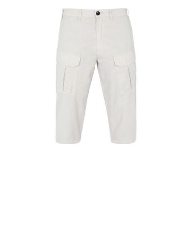 30409 CROPPED CARGO TROUSERS (BRUSHED COTTON SATIN)