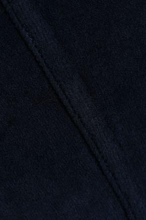 AMO Cotton-blend chenille track pants