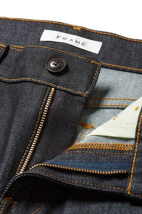 FRAME Mid-rise straight-leg jeans