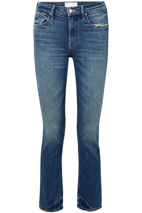 MOTHER High-rise slim-fit jeans
