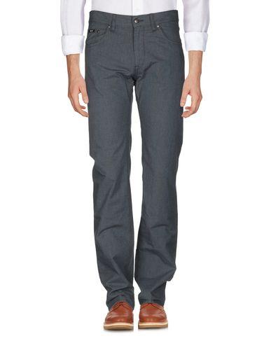 Фото 2 - Повседневные брюки от BOSS BLACK темно-синего цвета