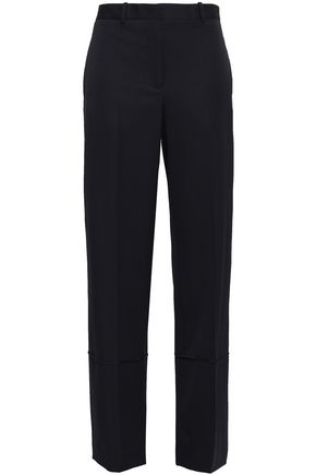 JIL SANDER Wool wide-leg pants