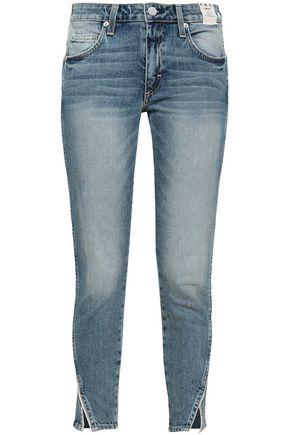 AMO Mid-rise slim-leg jeans