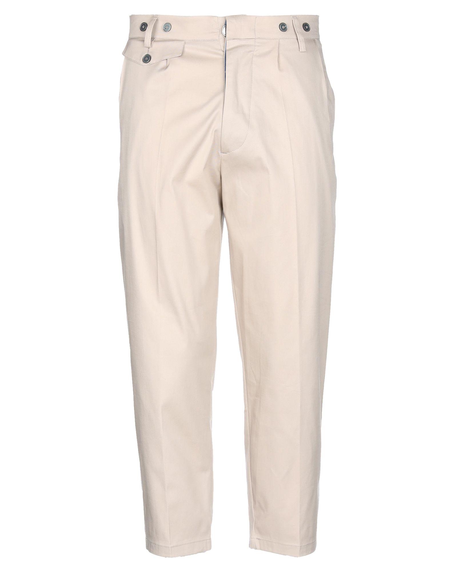《送料無料》JOHN SHEEP メンズ パンツ ベージュ 50 コットン 98% / ポリウレタン 2%