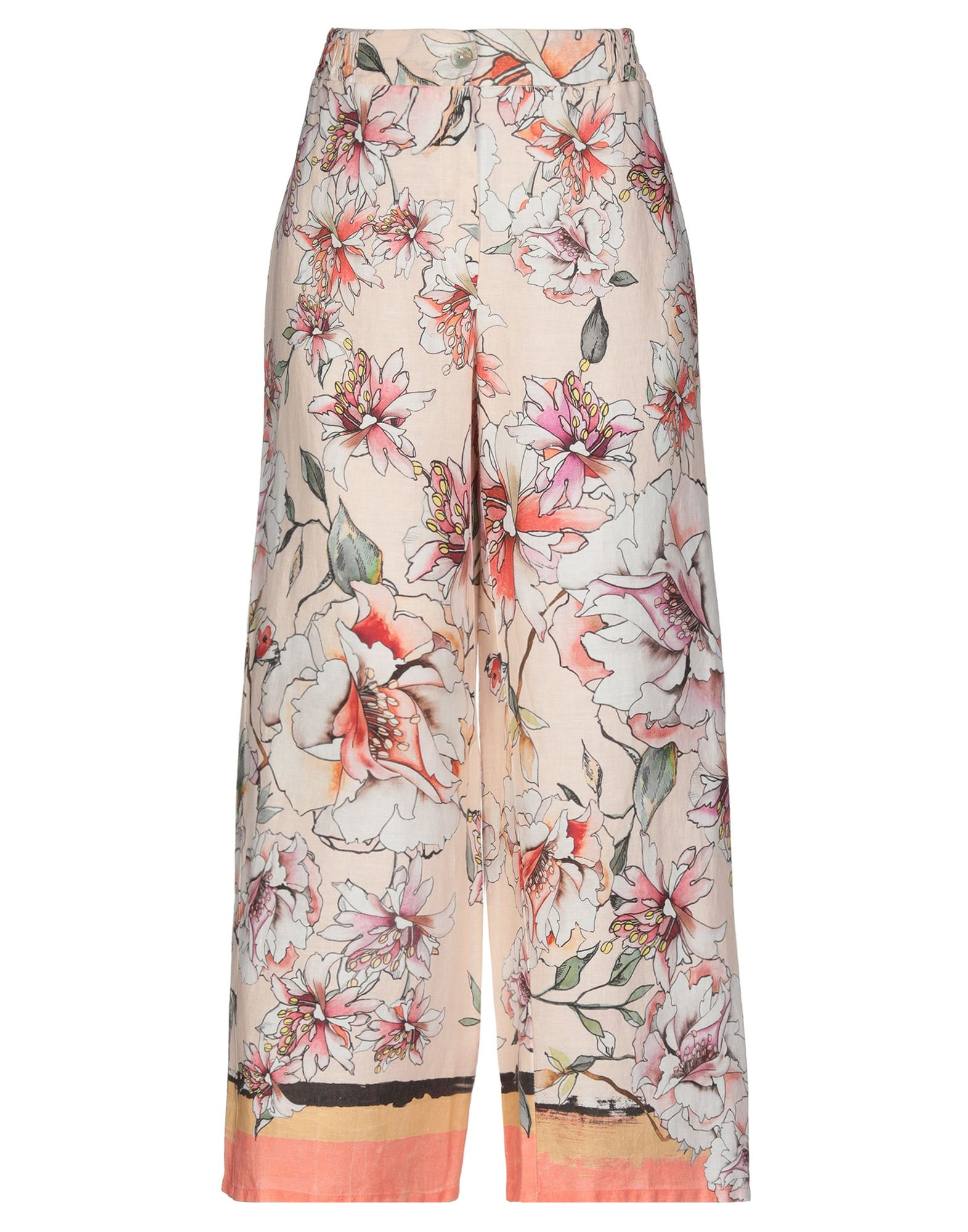 LA FABBRICA del LINO Повседневные брюки цена 2017