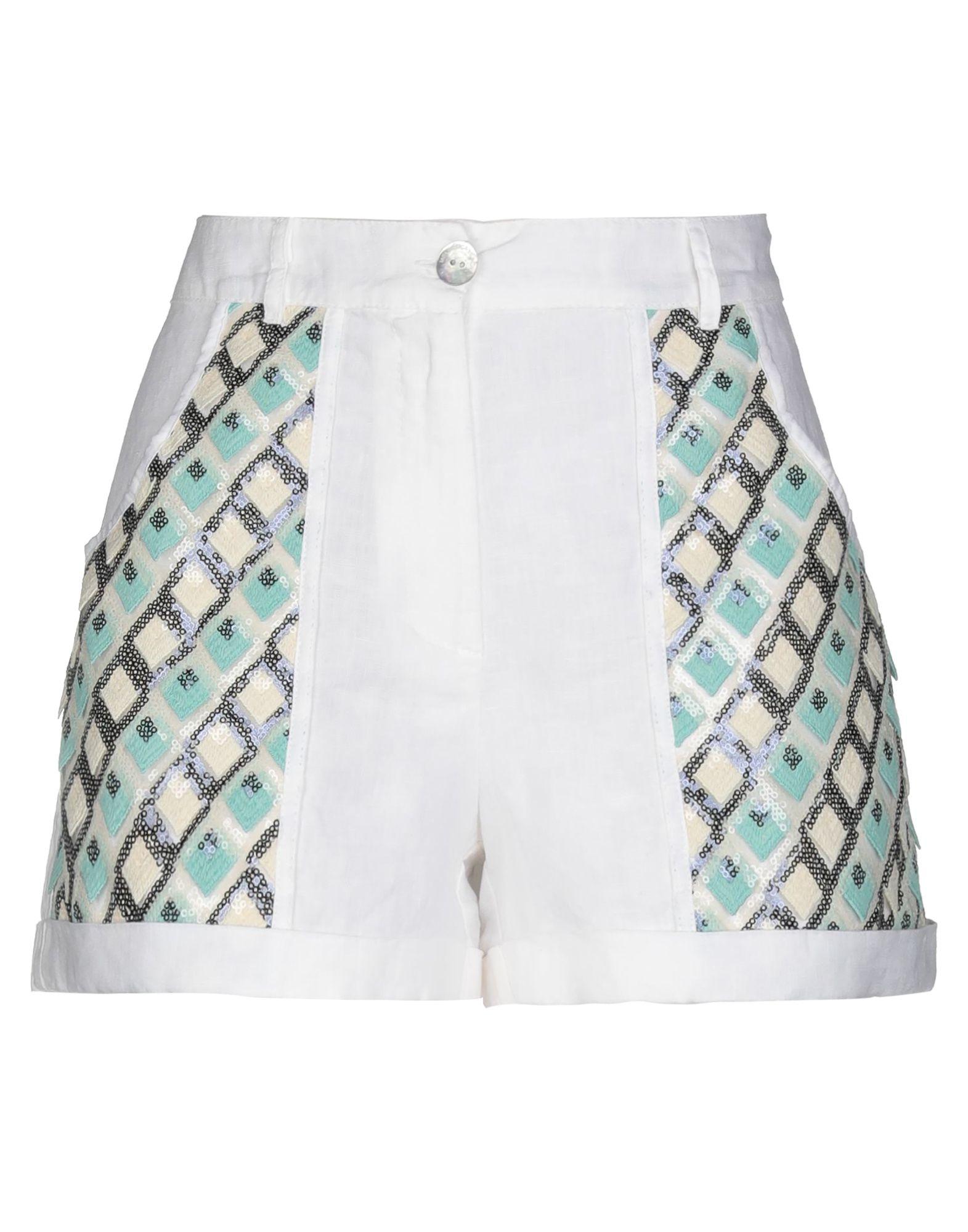 LA FABBRICA del LINO Повседневные шорты la camicia bianca повседневные шорты
