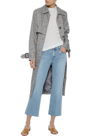 J BRAND Selena cropped mid-rise straight-leg jeans