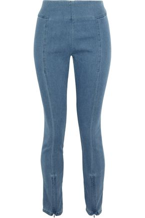 BY MALENE BIRGER Adelio stretch-cotton chambray leggings